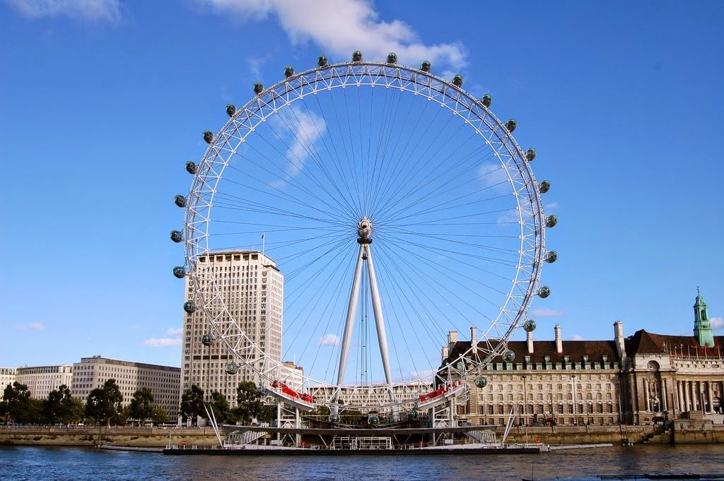 Roda Gigante London Eye em Londres