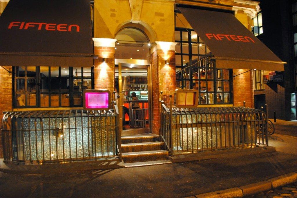 Restaurante Fifteen em Londres