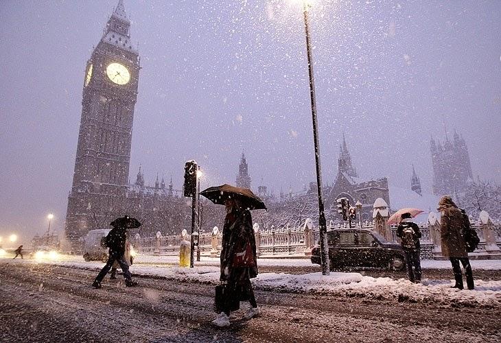 Clima em Londres e na Inglaterra