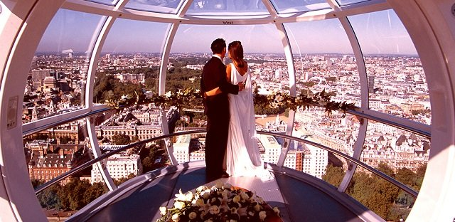 Roda-gigante London Eye em Londres