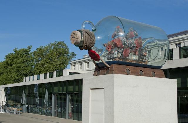 Entrada Museu Nacional Marítimo em Londres