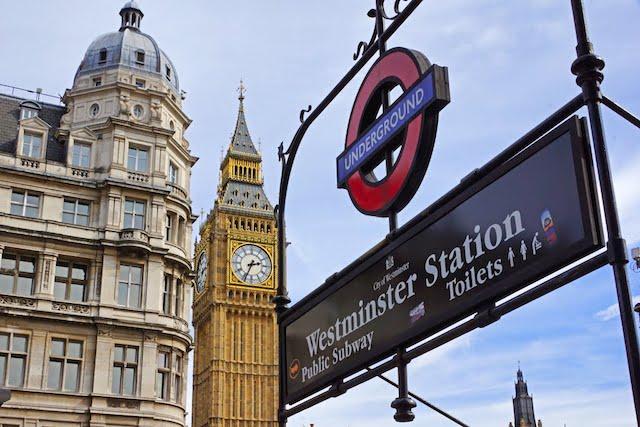 Estação de Westminster em Londres