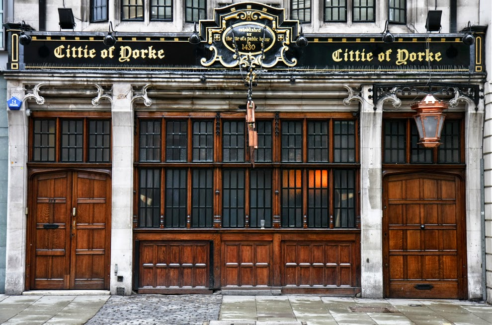 Bar The Cittie of Yorke em Londres