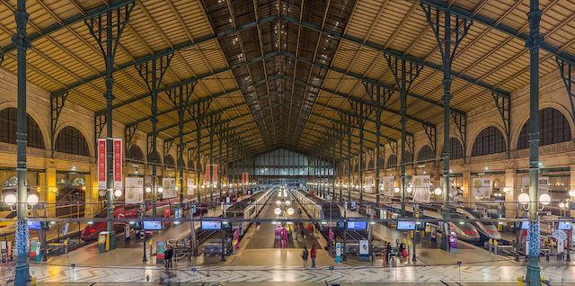 Gare du Nord em Paris