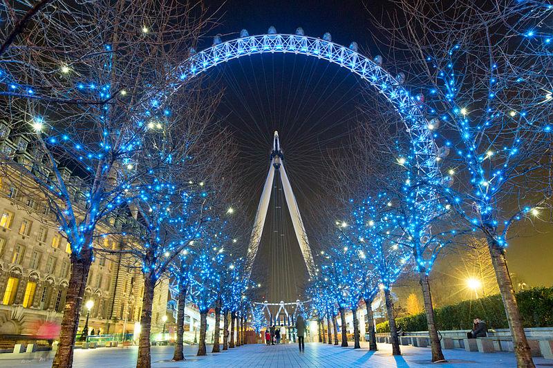Natal em Londres - London Eye