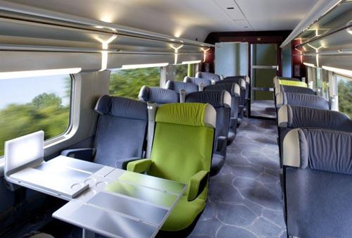 Viagem de trem de Londres a Manchester