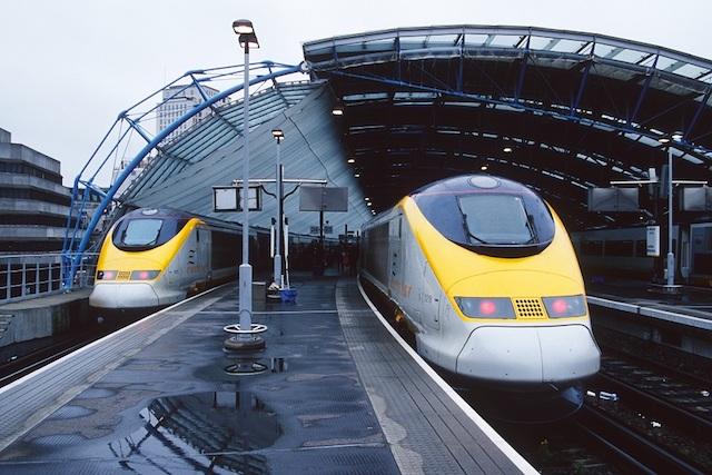 Viagem de trem de Londres a Amsterdã