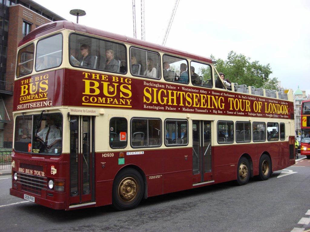 The Big Bus Company em Londres