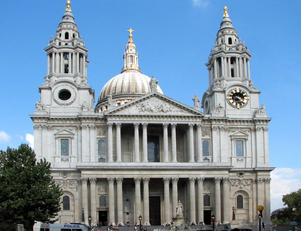 St. Paul Cathedral em Londres