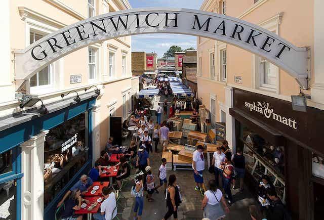 Região de Greenwich em Londres