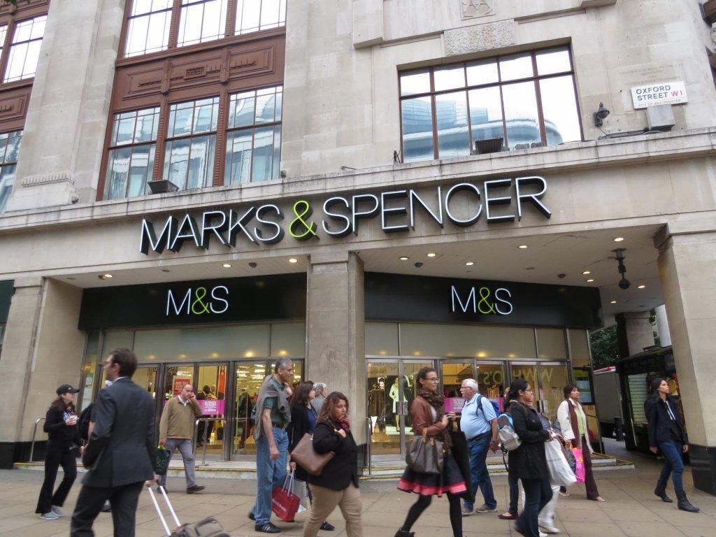 Loja de departamentos Marks & Spencer em Londres