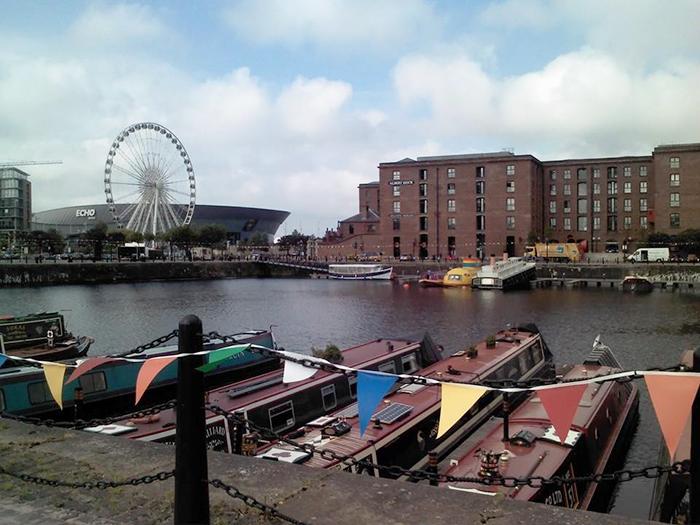 Inverno em Liverpool