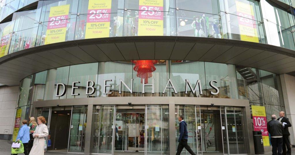 Loja de departamento Debenhams em Liverpool