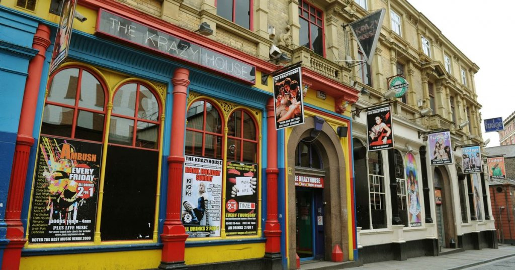 Balada Krazyhouse Liverpool
