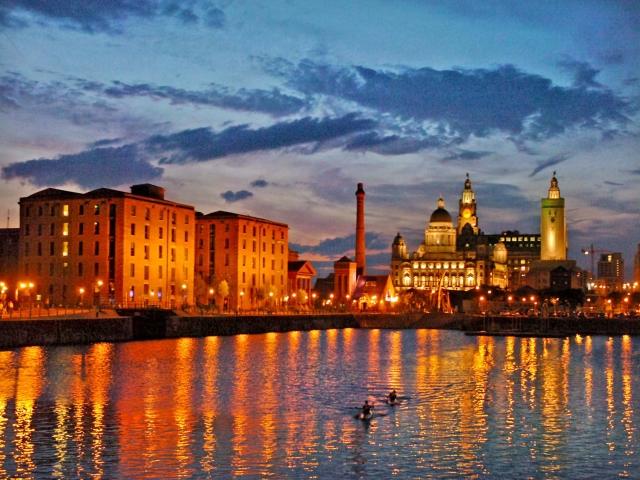 Albert Dock em Liverpool