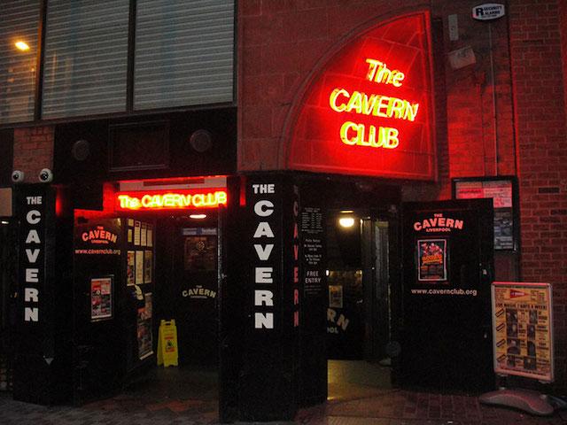 Balada The Cavern Club em Liverpool