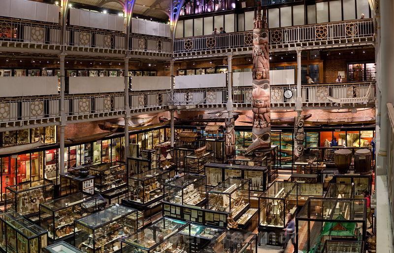 Pitt Rivers Museum em Oxford