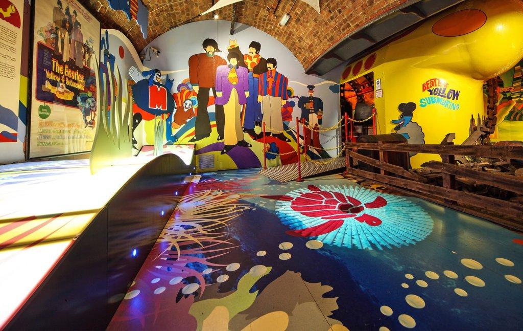 Visita à Beatles Story em Liverpool