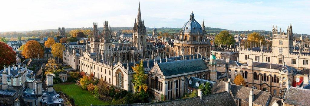 Como ir do aeroporto até o centro turístico de Oxford