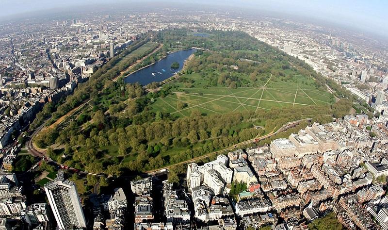 Hyde Park em Londres