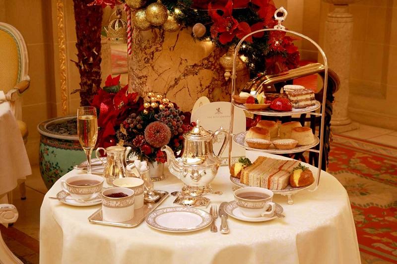 Chá da tarde no Hotel Ritz