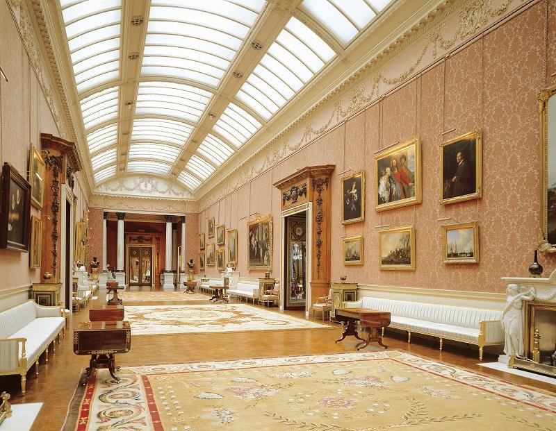 Queen's Gallery, Palácio de Buckingham