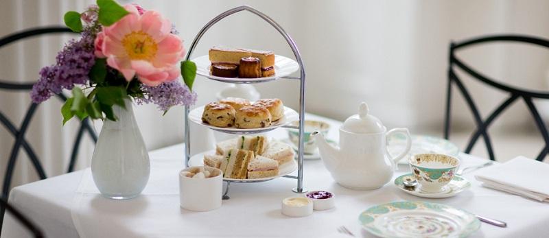 Chá da tarde no The Orangery