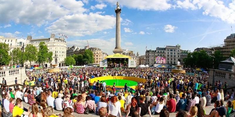 St. Patrick's Day em Londres