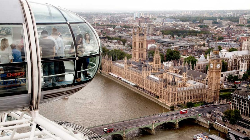 Roda Gigante em Londres