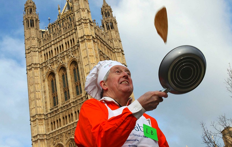 Pancake Day em Londres