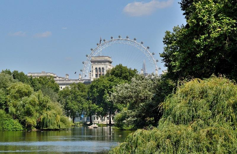 St. James's Park em Londres