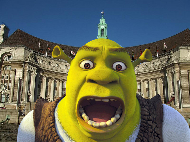 Shrek's Adventure em Londres