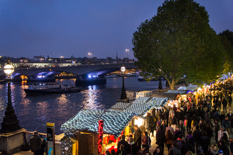 Mercadinhos de Natal em Londres