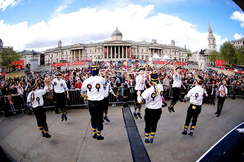 St. George's Day em Londres