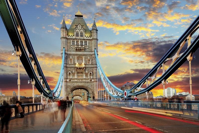Londres em agosto
