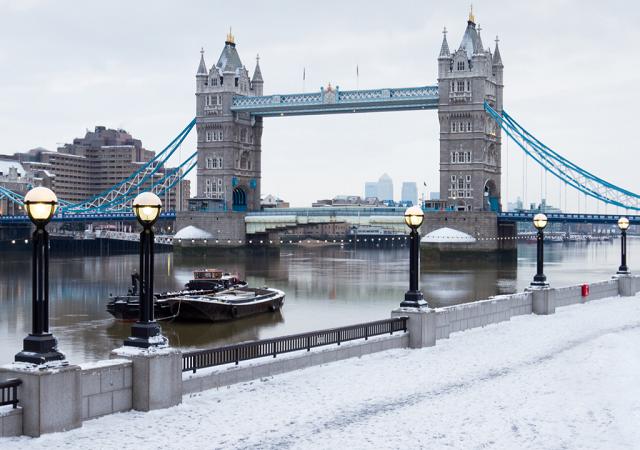 Clima e temperatura em Londres e Inglaterra