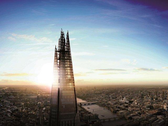 Vista panorâmica do Hotel Shard em Londres