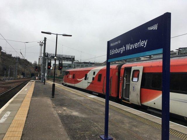 Viagem de trem de York a Edimburgo