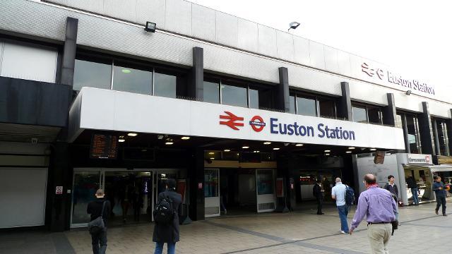 Estação Euston em Londres