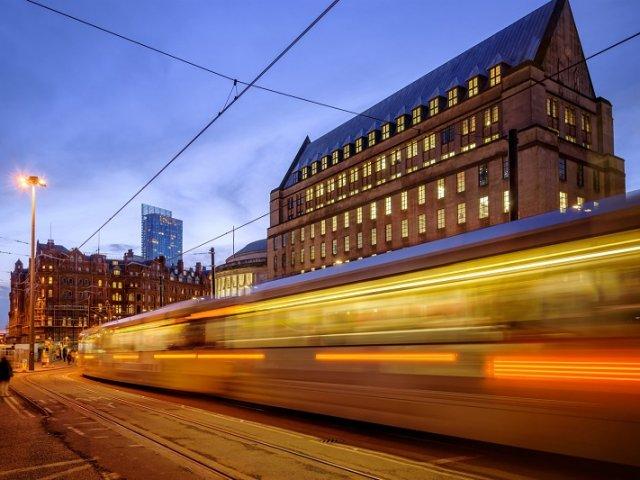 Viagem de trem de Manchester a Londres