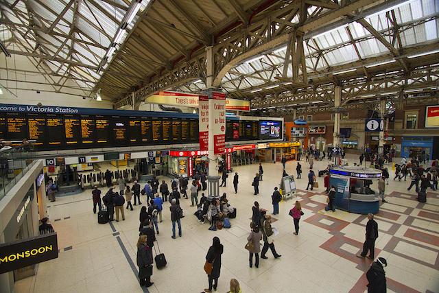 Estação Victoria em Londres