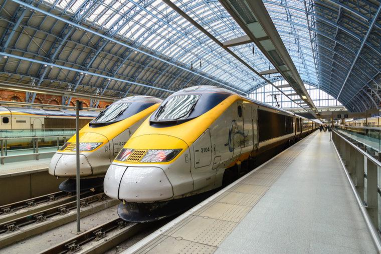 Trens na Inglaterra