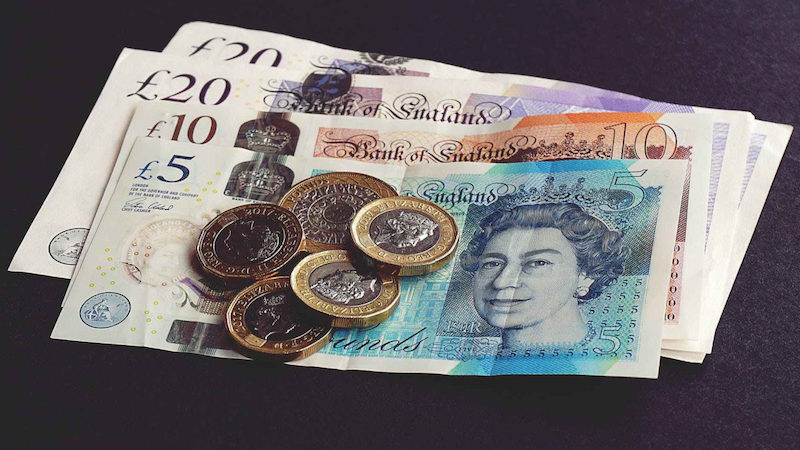 Informações necessárias para enviar dinheiro - libras