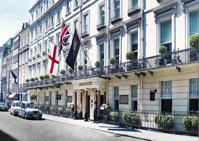Brown's em Londres